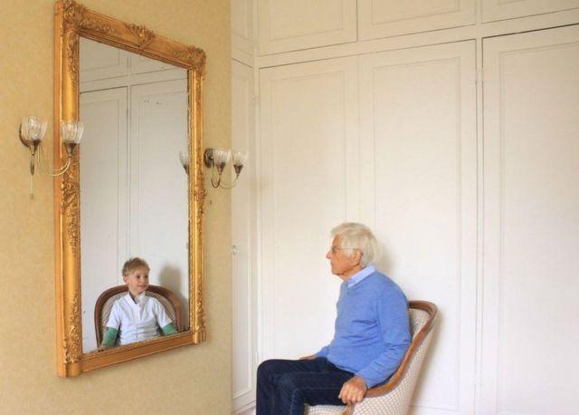 પુખ્ત વયના વ્યક્તિ અને બાળક.