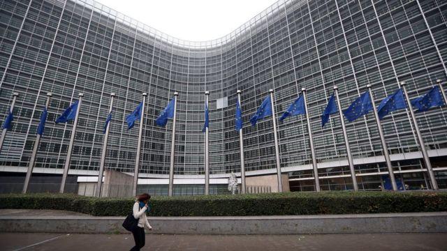 Le siège de la commission européenne, photo prise le 24 octobre 2014.