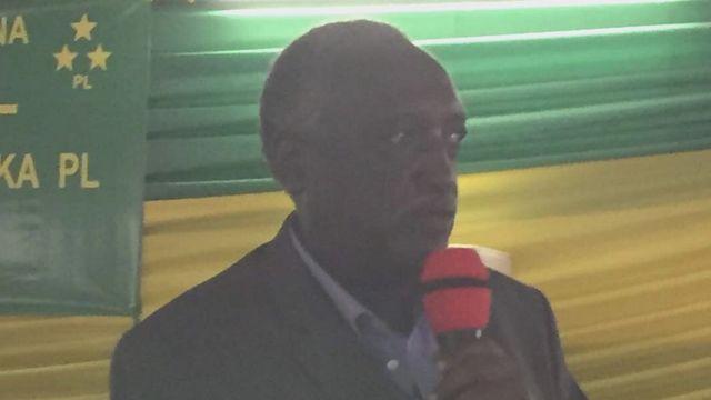 Tito Rutaremara, umwe mu bayobozi bakomeye b'ishyaka riri ku butegetsi FPR yari mu nama ya PL yemeje ko ishyigikiye Perezida Kagame mu matora