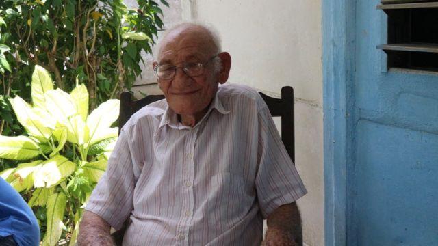Martín Castro, medio hermano de Fidel Castro.