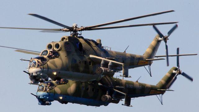Ruski helikopteri Mi-24