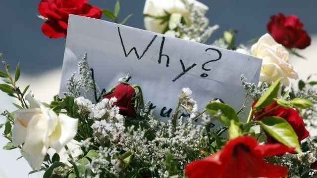 Flowers at the scene of the shooting in Sousse, Tunisia