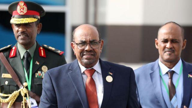 Omar al-Bashir.