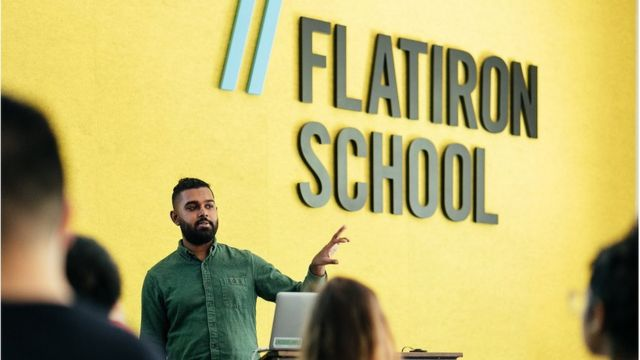 Un curso de Flatiron School
