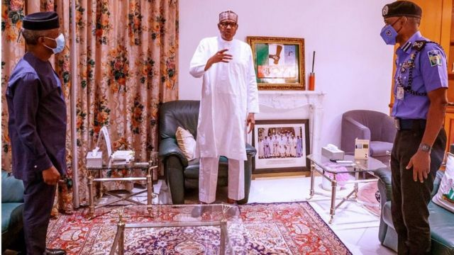 Buhari speaks on #ENDSARS protests