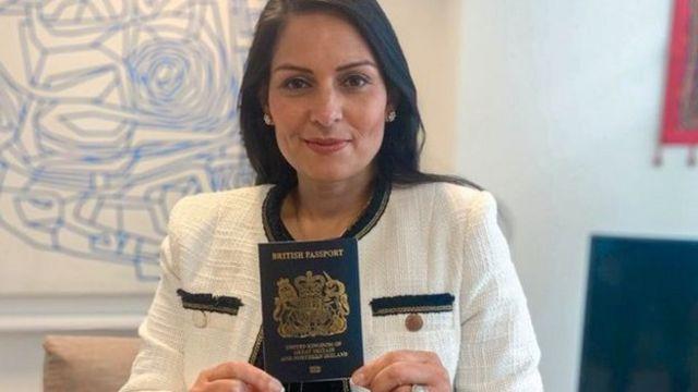 وزيرة الداخلية البريطانية بريتي باتيل