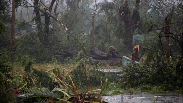 Les Cayes qasırğadan sonra