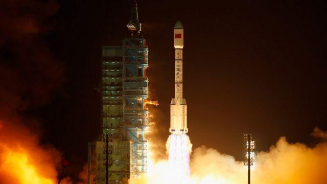 Lanzamiento de Tiangong-1, Palacio celestial