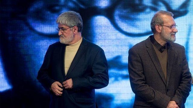 علی لاریجانی و علی مطهری