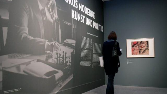 Экспозиция в немецком музее