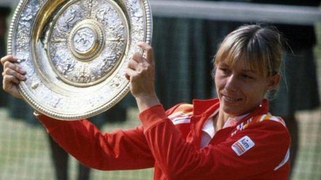 أحرزت مارتينا بطولة غراند سلام 18 مرة