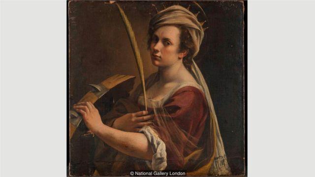 近期,位于伦敦的英国国家美术馆收购了阿尔泰米西娅·真蒂莱斯基的作品《亚历山大圣加大肋纳自画像》。