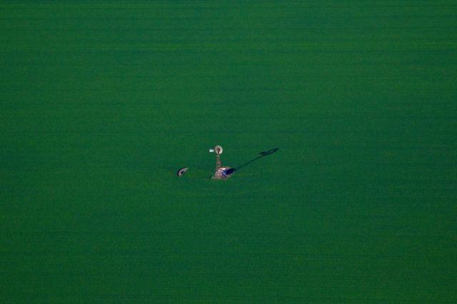 صور جوية تبرز تنسيق المزارع في استراليا