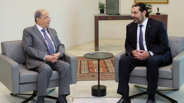 سعد الحريري استقال من رئاسة الوزراء استجابة لمظاهرات واسعة