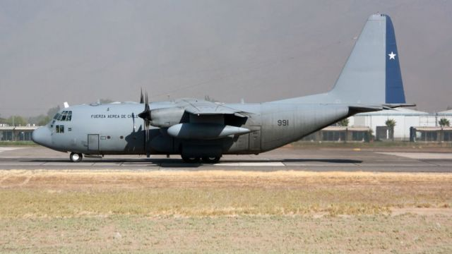Hércules C-130.