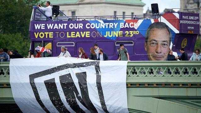 حملة مؤيدة للخروج البريطاني من الاتحاد الأوروبي