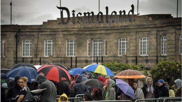 Banksy: Dismaland ticket problems 'not a prank'