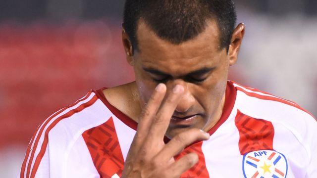 Paulo da Silva tras la derrota frente a Perú