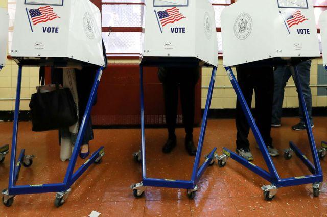 Cabinas de votación en Estados Unidos