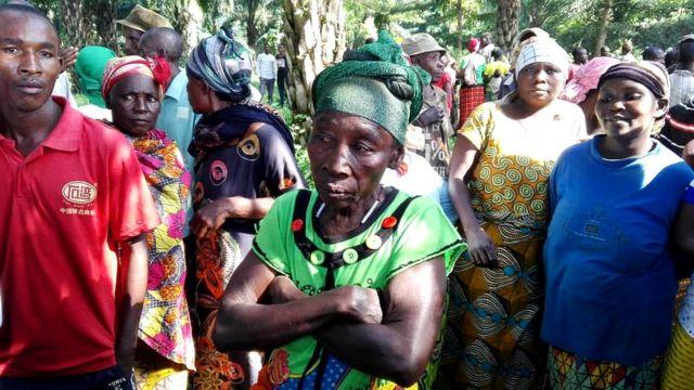 Bamwe mu banyagihugu bakuwe mu matongo, Bujumbura itariki 25/02/2019