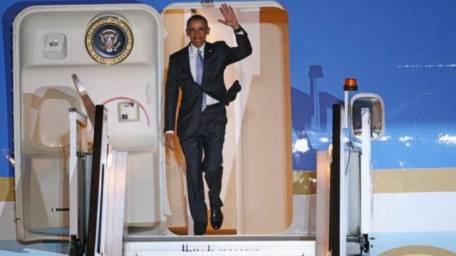 Barack Obama ageze mu Bwongereza