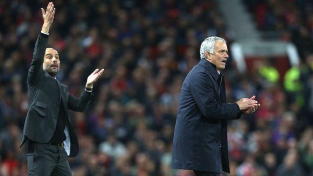 Guardiola, Mourinho
