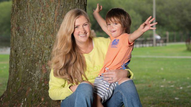 Rachael Bland ve oğlu Freddie