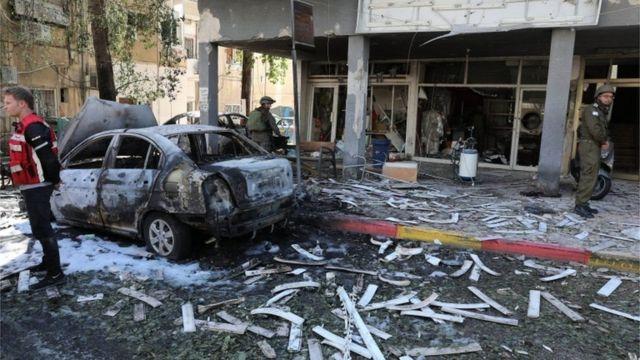 صواريخ المقاومة الفلسطينية، التي أطلقت من غزة، أصابت بعد منازل المستوطنين في إسرائيل.