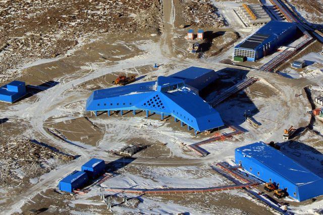 Estación Corea del Sur en Antártica.