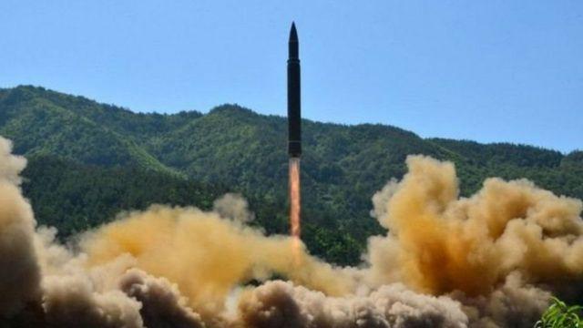 آزمایش موشکی روز ۲۹ نوامبر کره شمالی از نوع قاره پیما بود