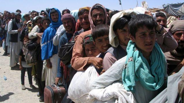 Afganistán: a dónde se dirigen los refugiados afganos y qué países los  están acogiendo (también en América Latina) - BBC News Mundo