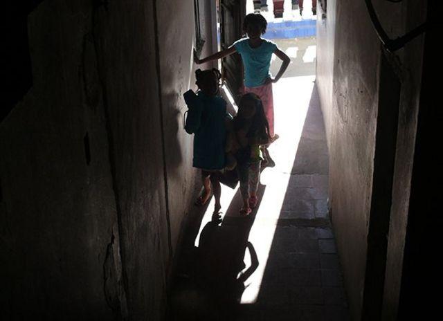 Niños de refugiados