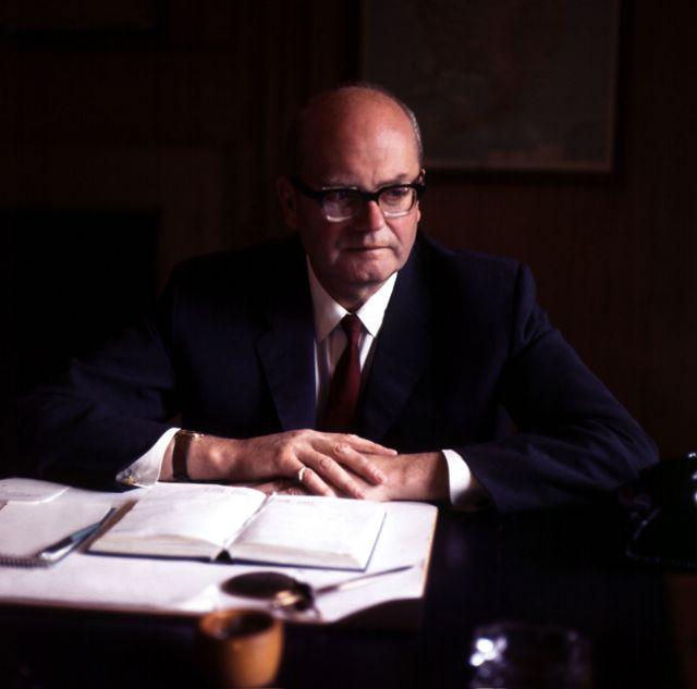 Хью Грин, фото 1968 года