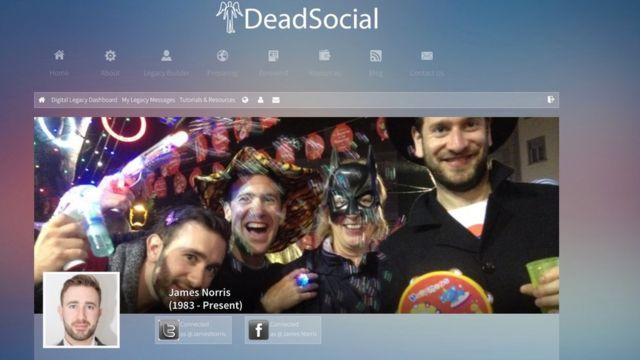 Perfil de James Norris na DeadSocial