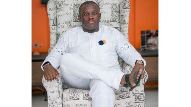 El parlamentario de Ghana Sam George