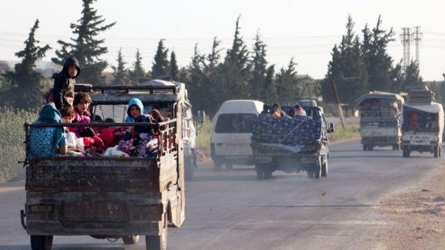 نازحون سوريون (أرشيفية)