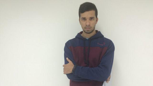 Segundo da família a fazer faculdade, Diego achou que seria mais fácil entrar no mercado