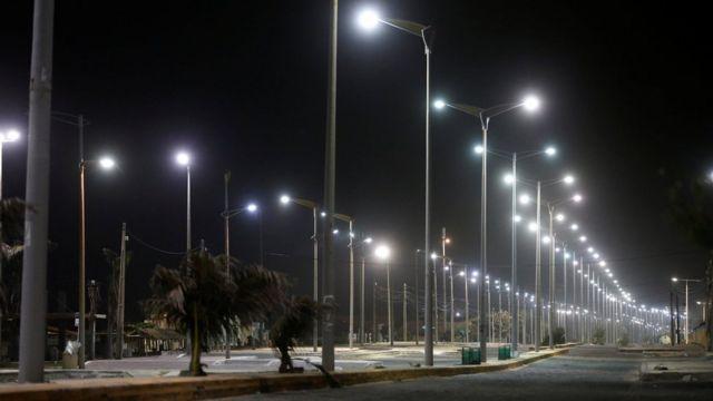 Avenida de Fortaleza vazia