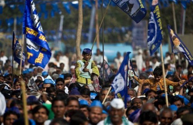 बहुजन समाज पार्टी की रैली