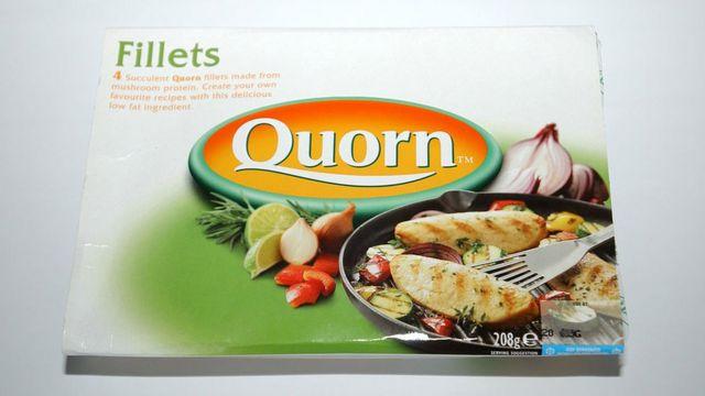 Caja de filetes marca Quorn
