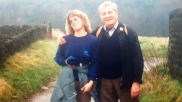 عکس برایان بیکات و دخترش
