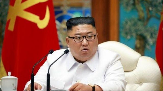 朝鮮領導人金正恩多次主持高級別會議要求嚴加防範新冠病毒(Credit: EPA/KCTV)