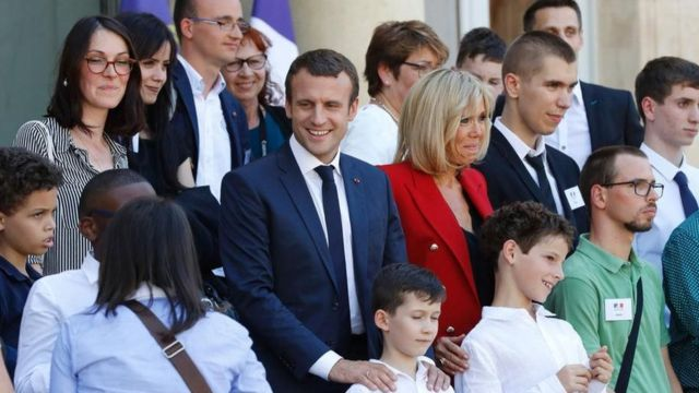 फ्रांसीसी राष्ट्रपति एमैनुएल मैक्रों