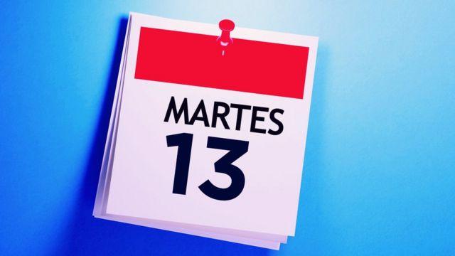 Martes 13: ¿por qué en Italia el día de la mala suerte es el viernes 17? - BBC News Mundo