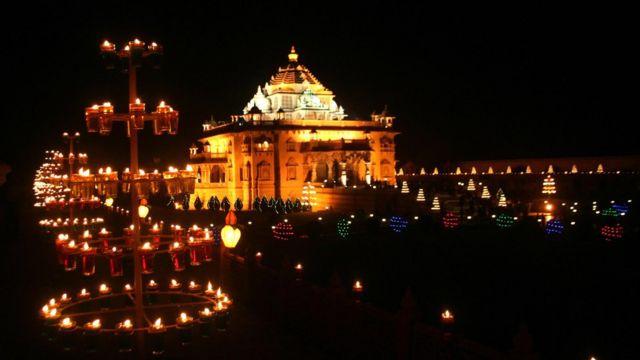 અક્ષરધામ મંદિરની પ્રતિકાત્મક તસવીર
