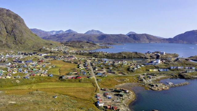 ساکنان شهر نارساک در جنوب گرینلند نگران پروژه بهره برداری از معدن بودند