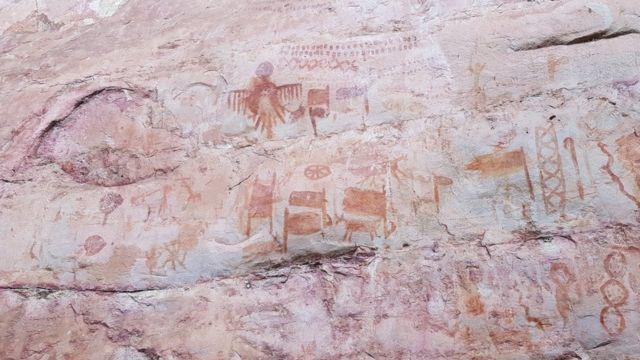наскельні малюнки амазонії