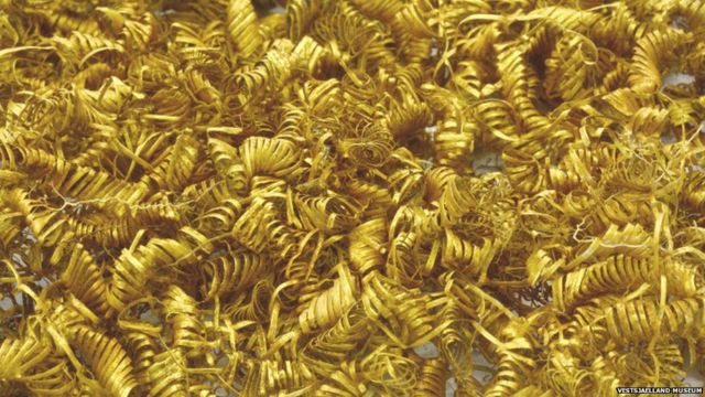 Denmark: Bronze Age gold spirals unearthed in field