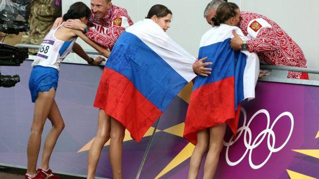 Atletas russas