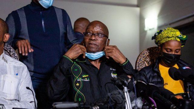 Jacob Zuma hakkında görevde olduğu yıllarla ilgili bir dizi yolsuzluk soruşturması başlatılmıştı